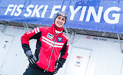 19.01.2018, Heini Klopfer Skiflugschanze, Oberstdorf, GER, FIS Skiflug Weltmeisterschaft, Einzelbewerb, im Bild Clemens Aigner (AUT) // Clemens Aigner of Austria during individual competition of the FIS Ski Flying World Championships at the Heini-Klopfer Skiflying Hill in Oberstdorf, Germany on 2018/01/19. EXPA Pictures © 2018, PhotoCredit: EXPA/ JFK