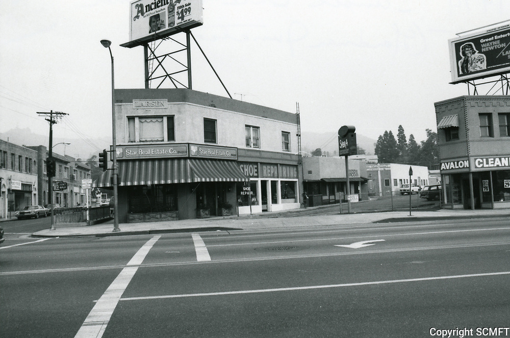 1973 Sunset Blvd. & Gardner St.