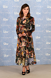 Jenna Coleman attending the Season 2 Premiere of ITV's Victoria held at the Ham Yard Hotel, London. Picture date: Thursday 24th August, 2017. Photo credit should read: Doug Peters/EMPICS Entertainment