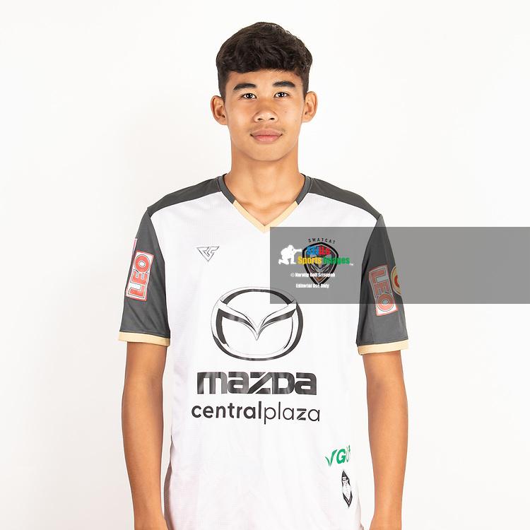 THAILAND - JUNE 25: Phatcharaphong Prathumma #18 of Nakhonratchasrima Mazda FC on June 25, 2019.<br /> .<br /> .<br /> .<br /> (Photo by: Naratip Golf Srisupab/SEALs Sports Images/MB Media Solutions)