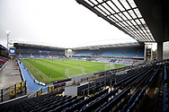 General View before the EFL Sky Bet Championship match between Blackburn Rovers and Birmingham City at Ewood Park, Blackburn, England on 8 May 2021.