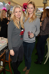 Left to right, STEPHANIE BAUER and KATIE SOLER at a ladies Valentine's Breakfast to launch the new healthy food menu at royal favourite restaurant Bumpkin, 119 Sydney Street, London on 14th February 2014.