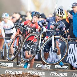 12-01-2020: Wielrennen: NK Veldrijden: Rucphen <br />Ceylin Alvarado; Annemarie Worst