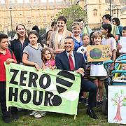 MP Caroline Lucus, Clive Lewis, Wera Hobhouse attended Zero Hour Children's Lobby at Parliament square, London, UK on 2021-09-08.
