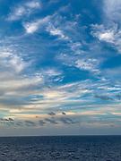 Sunset, Nuku Hiva, Marquesas; French Polynesia; South Pacific