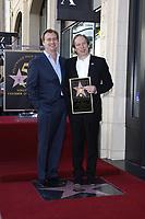12/8/2010 Christopher Nolan joins Hans Zimmer at Hans' Hollywood Walk of Fame ceremony
