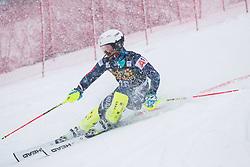 Popov Albert (BUL) during the Audi FIS Alpine Ski World Cup Men's  Slalom at 60th Vitranc Cup 2021 on March 14, 2021 in Podkoren, Kranjska Gora, Slovenia Photo by Grega Valancic / Sportida