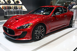 12 February 2015:  Maserati Gran Turismo. <br />