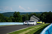 June 25 - 27, 2015: Lamborghini Super Trofeo Round 3-4, Watkins Glen NY. Safety car leads the field late in the race.