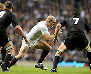 Twickenham, GREAT BRITAIN, James HASKELL with the ball, during the Investic Challenge Series, England vs New Zealand, Autumn International at Twickenham Stadium, Surrey on Saturday  21/11/2009   [Photo, Peter Spurrier/Intersport-images]