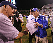 during an ACC football game Saturday in Charlottesville, VA. Duke won 28-17. Photo/Andrew Shurtleff