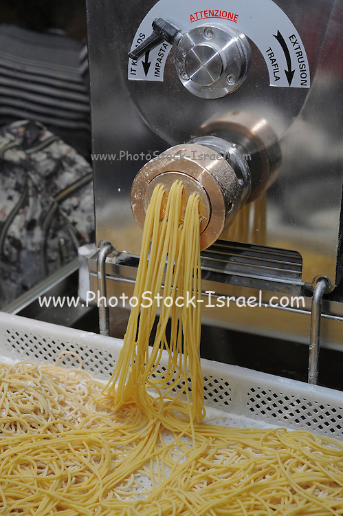Making Fresh spaghetti