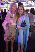 LIZ BREWER; VICTORIA WATSON, Preview for The London Motor Show, Battersea Evolution. London. 5 May 2016