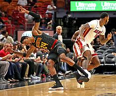 Heat v Hawks - 23 October 2017