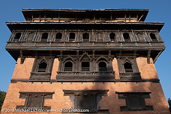 Visit to the Nuwakot Durbar, an 18th century royal palace, before riding out on day-10 of our Himalayan Heroes adventure  riding from Nuwakot back to Kathmandu, Nepal. Thursday, November 15, 2018. Photography ©2018 Michael Lichter.