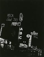 1950 KECA-ABC TV on Vine St.