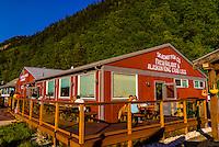 Skagway Fish Company, Skagway, Inside Passage, southeast Alaska USA.