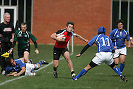 Canada U17 v Italy at the RFU Wellington College rugby festival 2010.<br /> <br /> LOOK HERE AGAIN SOON. HUNDREDS OF PHOTO'S HERE SOON, AVAILABLE TO PURCHASE ON-LINE.
