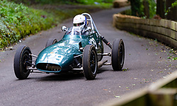 Boness Revival hillclimb motorsport event in Boness, Scotland, UK. The 2019 Bo'ness Revival Classic and Hillclimb, Scotland's first purpose-built motorsport venue, it marked 60 years since double Formula 1 World Champion Jim Clark competed here.  It took place Saturday 31 August and Sunday 1 September 2019. 129. Graham Barron. Gemini MK2