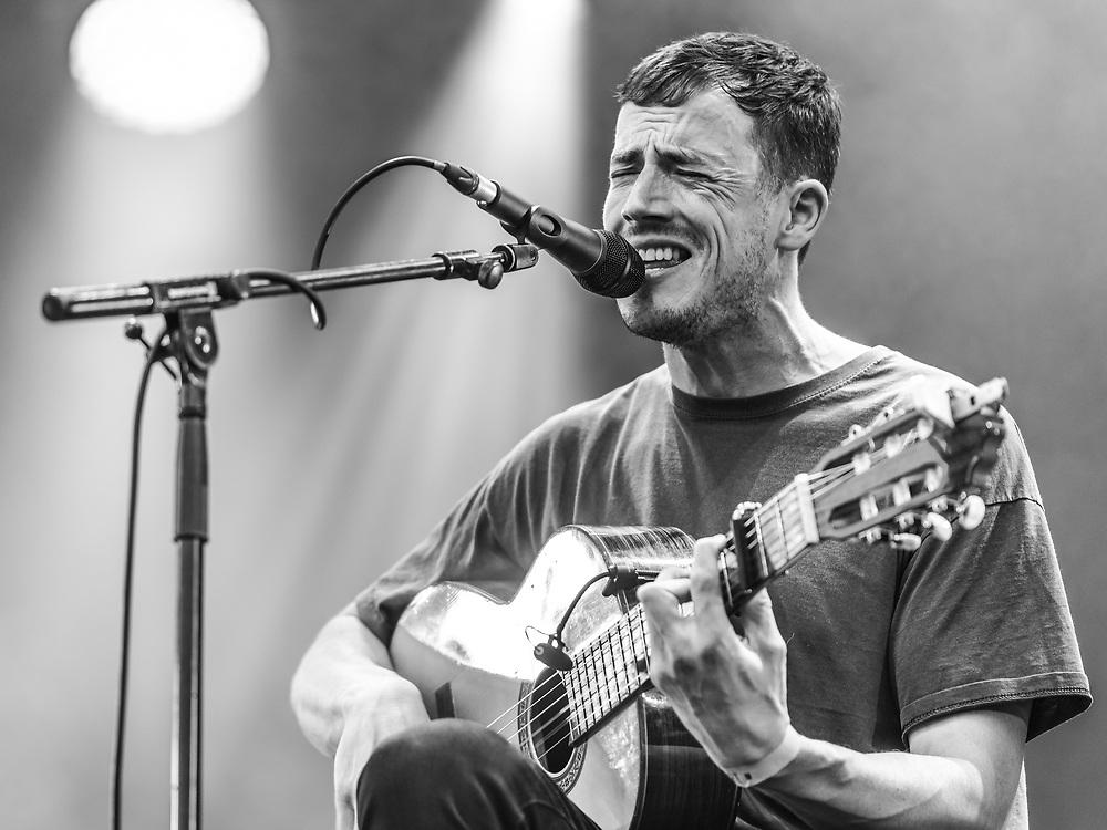 British singer-songwriter Charlie Cunningham at Haldern Pop Festival