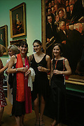 Laura Barnett, Clare Barnett, Lord Weidenfeld and Alina Barnett. Celebration of Lord Weidenfeld's 60 Years in Publishing hosted by Orion. the Weldon Galleries. National Portrait Gallery. London. 29 June 2005. ONE TIME USE ONLY - DO NOT ARCHIVE  © Copyright Photograph by Dafydd Jones 66 Stockwell Park Rd. London SW9 0DA Tel 020 7733 0108 www.dafjones.com