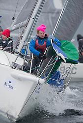Silvers Marine Scottish Series 2017<br /> Tarbert Loch Fyne - Sailing<br /> <br /> IRL9970, Lambay Rules, Stephen Quinn, Howth Yacht Club, J97<br /> <br /> Credit: Marc Turner / CCC