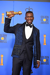 January 6, 2019 - Los Angeles, California, U.S. - Mahershala Ali in the Press Room during the 76th Annual Golden Globe Awards at The Beverly Hilton Hotel. (Credit Image: © Kevin Sullivan via ZUMA Wire)