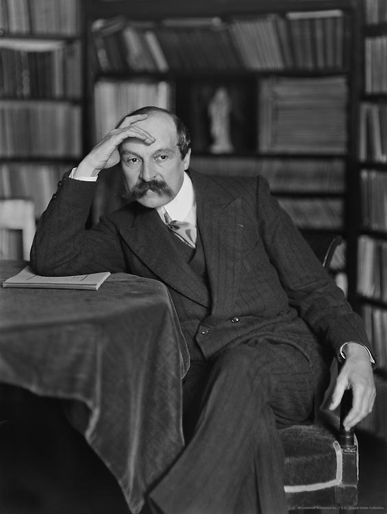 French Author Maurice Leblanc, circa 1911