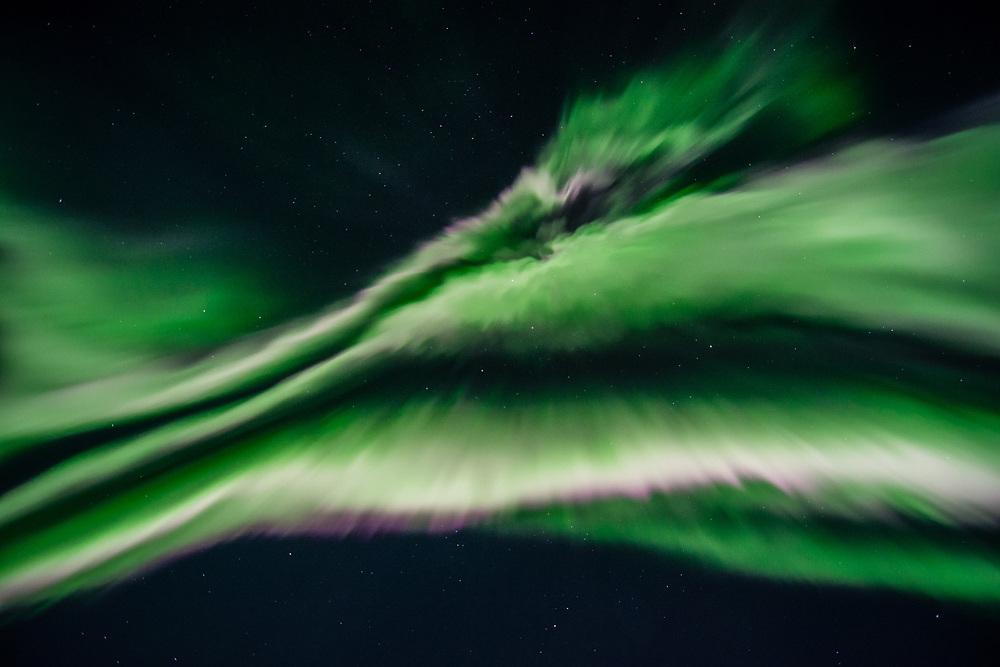 On mof the most impressive aurora night I saw in Inukjuak. September 27, 2017
