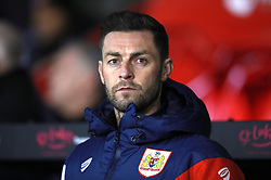 """Bristol City Assistant Head Coach Jamie McAllister during the Sky Bet Championship match at Bramall Lane, Sheffield. PRESS ASSOCIATION Photo. Picture date: Friday December 8, 2017. See PA story SOCCER Sheff Utd. Photo credit should read: Mike Egerton/PA Wire. RESTRICTIONS: EDITORIAL USE ONLY No use with unauthorised audio, video, data, fixture lists, club/league logos or """"live"""" services. Online in-match use limited to 75 images, no video emulation. No use in betting, games or single club/league/player publications."""