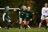 Mount Abraham vs. Rice Girls Soccer Semifinal 10/31/18