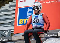 Natalie Eilers of Canada during Day 3 of World Cup Ski Jumping Ladies Ljubno 2019, on February 10, 2019 in Ljubno ob Savinji, Slovenia. Photo by Matic Ritonja / Sportida