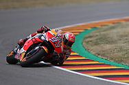 Elbow down #93 Marc Marquez, Spanish: Repsol Honda Team during the HJC Helmets Motorrad Grand Prix Deutschland at Hohenstein-Ernstthal, Chemnitz, Saxony, Germany on 5 July 2019.
