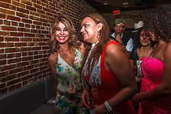 HOLLYWOOD, CA - JUNE 29 Cuban American journalist, author, and television & radio show host  Myrka Dellanos hosts fashion designer Johana Hernandez birthday bash at the Rose Room in Hollywood California. 2014 June 29. Byline, credit, TV usage, web usage or linkback must read SILVEXPHOTO.COM. Failure to byline correctly will incur double the agreed fee. Tel: +1 714 504 6870.
