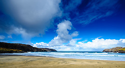 Atlantic breakers smash on to the beach at Cliff, Isle of Lewis, Outer Hebrides, Scotland<br /> <br /> (c) Andrew Wilson | Edinburgh Elite media