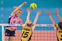 10-04-2016 ITA: CEV DenizBank Champions League  - VakıfBank Istanbul - Pomi Casalmaggiore, Montichiari<br /> Lauren Gibbemeyer of Pomi' Casalmaggiore<br /> <br /> ***NETHERLANDS ONLY***