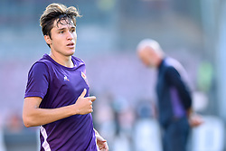 September 15, 2018 - Naples, Italy - Federico Chiesa of ACF Fiorentina during the Serie A match between Napoli and Fiorentina at Stadio San Paolo, Naples, Italy on 15 September 2018. (Credit Image: © Giuseppe Maffia/NurPhoto/ZUMA Press)