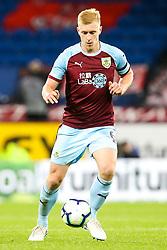 Ben Mee of Burnley - Mandatory by-line: Robbie Stephenson/JMP - 30/08/2018 - FOOTBALL - Turf Moor - Burnley, England - Burnley v Olympiakos - UEFA Europa League Play-offs second leg