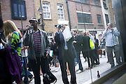 Tracey Emin opening. White Cube. Mason's Yard. London. 28 May 2009.