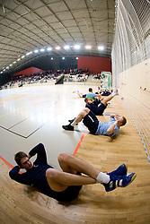 Sebastian Skube at Open training session for the public of Slovenian handball National Men team before European Championships Austria 2010, on December 27, 2009, in Terme Olimia, Podcetrtek, Slovenia.  (Photo by Vid Ponikvar / Sportida)