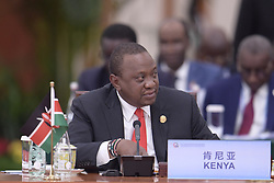 BEIJING, Sept. 4, 2018  Kenyan President Uhuru Kenyatta attends a round table of the 2018 Beijing Summit of the Forum on China-Africa Cooperation (FOCAC) in Beijing, capital of China, Sept. 4, 2018.  mcg) (Credit Image: © Li Xueren/Xinhua via ZUMA Wire)