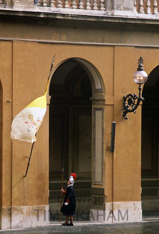 Guard, Vatican, Vatican City.