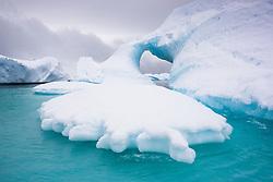 Ice berg in Plenau Bay, Antarctica