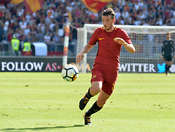 September 23, 2017 - Rome, Italy - Alessandro Florenzi during the Italian Serie A football match between A.S. Roma and Udinese at the Olympic Stadium in Rome, on september 23, 2017. (Credit Image: © Silvia Lore/NurPhoto via ZUMA Press)