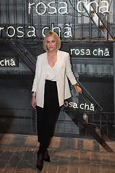 August 16, 2017 - Sao Paulo, Sao Paulo, Brazil - Brazilian top model FIORELLA MATHEIS attends a fashion event in a store in Sao Paulo, Brazil. (Credit Image: © Paulo Lopes via ZUMA Wire)