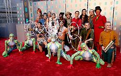 Cirque du Soleil's Totem attending the 72nd British Academy Film Awards held at the Royal Albert Hall, Kensington Gore, Kensington, London.
