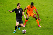 Andreas Ulmer of Austria and Denzel Dumfries of the Netherlands during the UEFA Euro 2020, Group C football match between Netherlands and Austria on June 17, 2021 at the Johan Cruijff ArenA in Amsterdam, Netherlands - Photo Andre Weening / Orange Pictures / ProSportsImages / DPPI