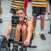 3:10 PM- Concept2 #33- Men?s 500m U19, U14, Para<br /> <br /> NZ Indoor Champs, raced at Avanti Drome, Cambridge, New Zealand, Saturday 23rd November 2019 © Copyright Steve McArthur / @rowingcelebration www.rowingcelebration.com