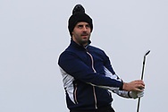 Liam Hutchinson (Royal Dublin) on the 4th tee during Round 3 of The West of Ireland Open Championship in Co. Sligo Golf Club, Rosses Point, Sligo on Saturday 6th April 2019.<br /> Picture:  Thos Caffrey / www.golffile.ie