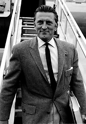 File photo dated 04/07/58 of Kirk Douglas, who is celebrating his 100th birthday today.